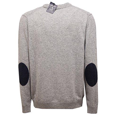 Grigio Men Wool Woolrich Sweater Grey Uomo Maglione 6409v TqzS77