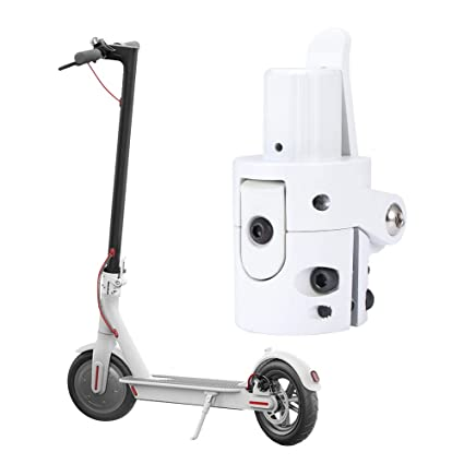 Scooter Eléctrico Gancho Plegable Base Plegable para Poste ...