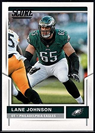 1e2520e12 Amazon.com  2017 Panini Score Football  261 Lane Johnson Eagles ...