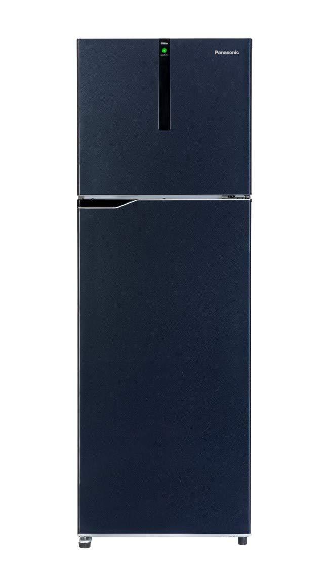 Panasonic 270 L 3 Star ( 2019 ) Inverter Frost-Free Double-Door Refrigerator (NR-BG271VDA3, Deep Ocean Blue)
