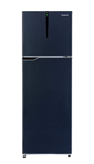 Panasonic 270 L 3 Star Inverter Frost-Free Double-Door Refrigerator (NR-BG271VDA3, Deep Ocean Blue) Refrigerators at amazon