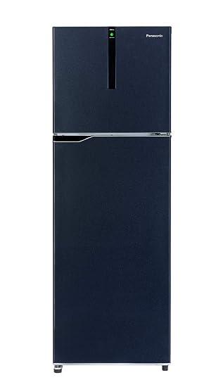 Panasonic 270 L 3 Star Inverter Frost-Free Double-Door Refrigerator (NR-BG271VDA3, Deep Ocean Blue) Refrigerators at amazon