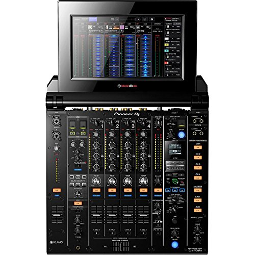 pioneer djm tour1 tour system 4 channel digital mixer with fold out touch screen djmixers co. Black Bedroom Furniture Sets. Home Design Ideas