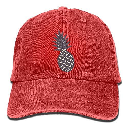 Women Denim Sport DEFFWB Men Cap Hats Pineapple for Cowgirl Cowboy Hat Skull PP0UBq