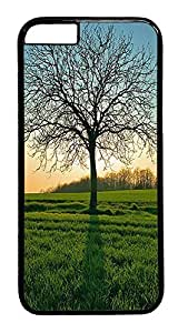 ACESR Leafless Tree iPhone 6 Hard Case PC - Black, Back Cover Case for Apple iPhone 6(4.7 inch) by lolosakes