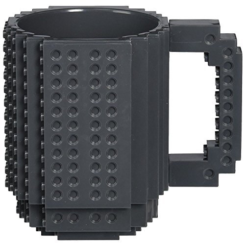 Generic Build On Brick Black Coffee Mug 12 oz