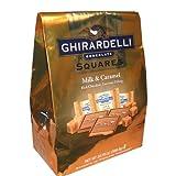 Ghirardelli Milk and Caramel Chocolate Squares 40 Piece Bag