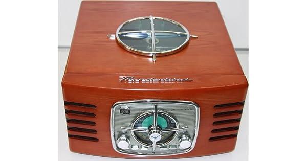Amazon.com: Thunderbird Turntable de madera Plus – Radio ...