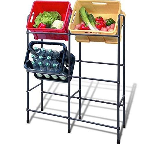 SKB Family Steel Shelf for 6 Crates Heavy Duty Storage Shelving SKB-family skb-02-522444