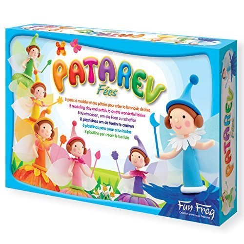 Play-Dough - Patarev : Fairies Maxi Box Set by Sentosphere - Jeux by Sentosphere - Jeux
