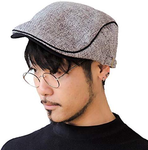 [スポンサー プロダクト]ハンチング帽子 メンズ ハンチング 帽子 春 夏 ハンチング帽 キャスケット レディース 14+ イチヨンプラス イチヨン 14プラス ihut0054