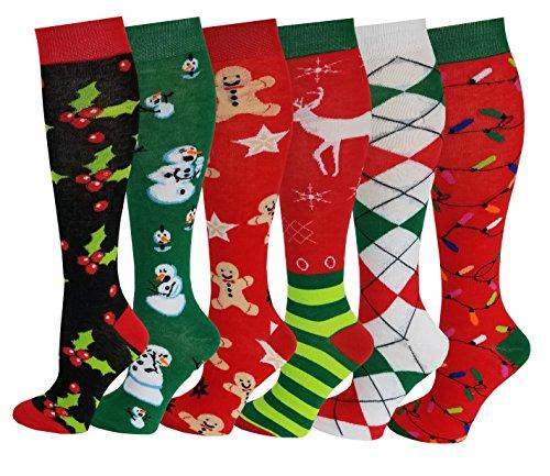 Patterned Knee Sock - 2