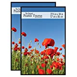 MCS 65548 2-Pack Original Poster Frame, 22.38 by 34-Inch, Black