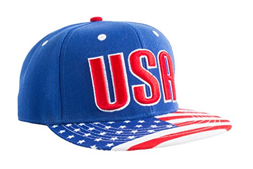 - Epic USA American Flag Pride Merica Snapback Hat of Freedom, Liberty, Justice