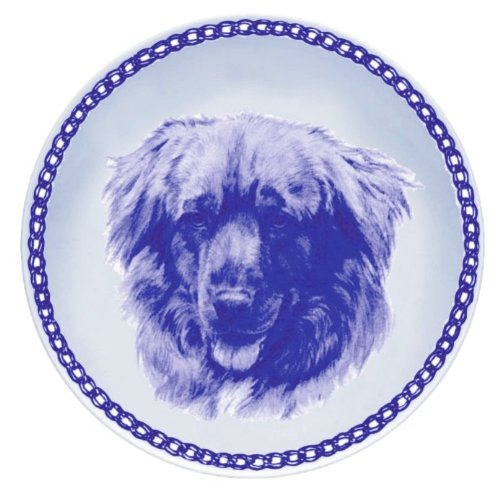 Nova Scotia Duck Tolling Retriever Lekven Design Dog Plate 19.5 cm  7.61 inches Made in Denmark NEW with certificate of origin PLATE  7563