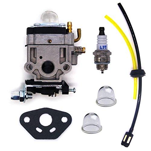 FitBest Carburetor WYK-186 with Fuel Repower Kit for Shindaiwa T242X T242 ECHO PAS-260 PAS-261 PE-260 PE-261 PPT-260 SHC261 SRM260 SRM261 Trimmer
