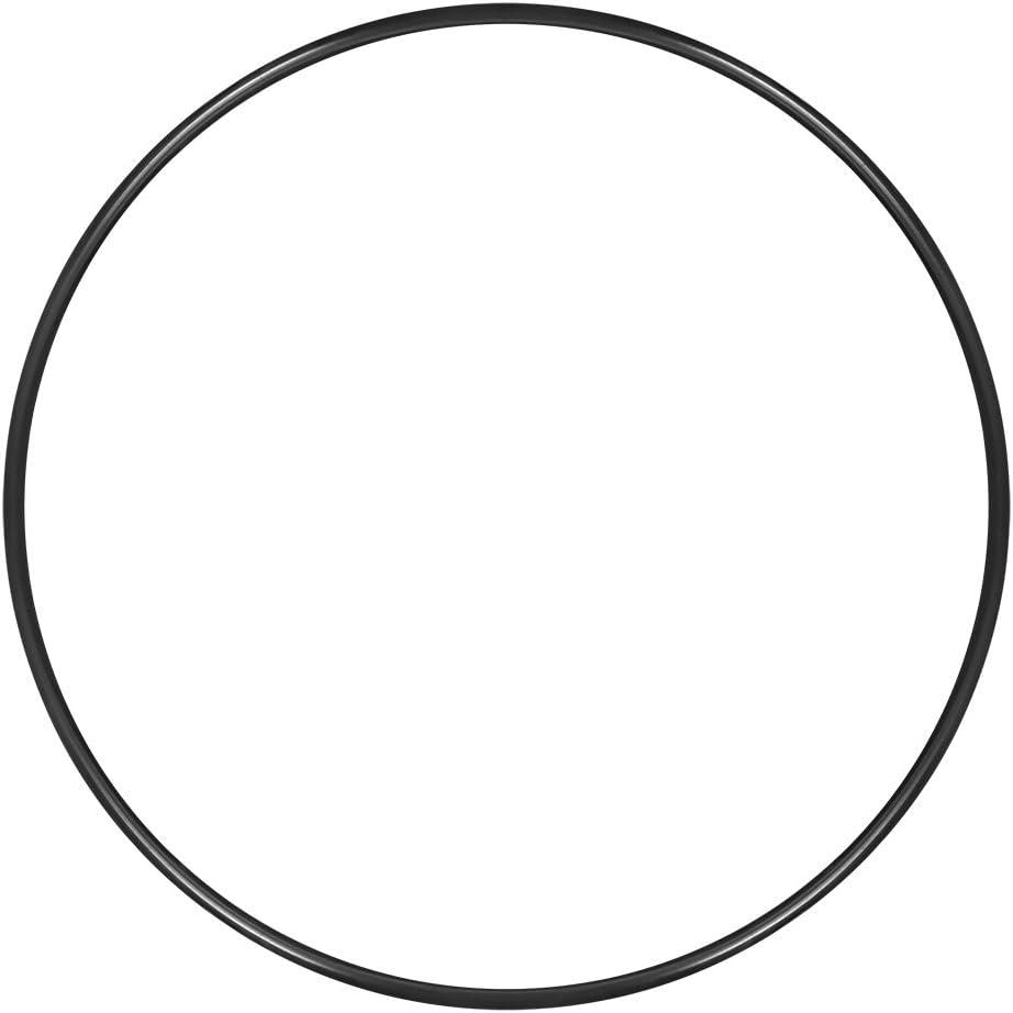 Sourcing Map O-Ring Nitrile Gomma 208.6mm x 220mm x 5.7mm Anelli Di Tenuta Guarnizioni 1pz