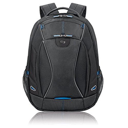 Solo Glide 17.3 Inch Laptop Backpack, Black