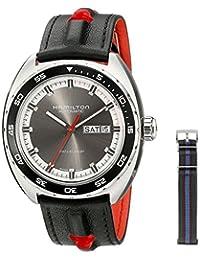 Hamilton Men's H35415781 Timeless Class Analog Display Automatic Self Wind Grey Watch