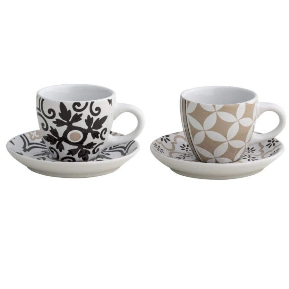 Brandani 53179 Alhambra - Juego de tazas de café (2 unidades ...