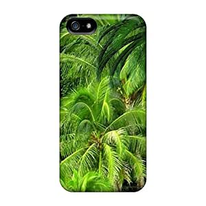 High Quality Luoxunmobile333 Jungle Green Skin Cases Covers Specially Designed For Iphone - 5/5s
