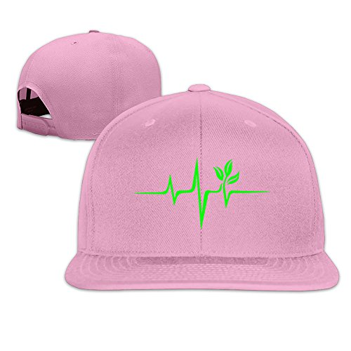 Pulse Green Weed Snapback Mesh Travel Cap Hats