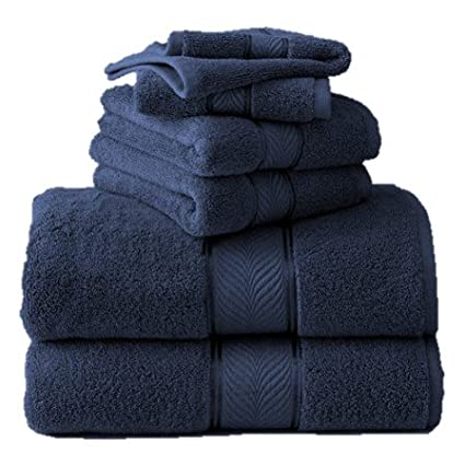 Better Homes And Gardens Thick And Plush 6 Piece Cotton Bath Towel Set