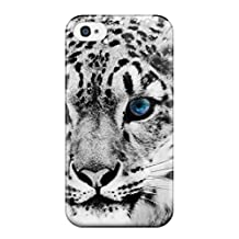 FwpYcCv9644luSHo Case Cover Snow Leopard Iphone 4/4s Protective Case