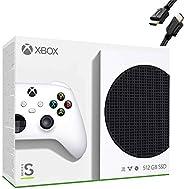 Microsoft Xbox Series S 512GB Game All-Digital Console + 1 Xbox Wireless Controller, White - 1440p Gaming Reso