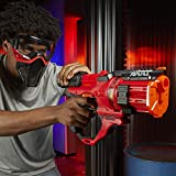Nerf Rival Roundhouse XX-1500 Red Blaster -- Clear