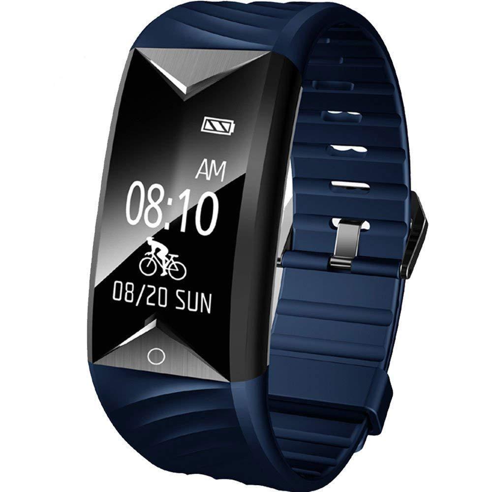 Willful Pulsera Actividad con Pulsómetro, Pulsera Inteligente para Deporte, Reloj Inteligente Impermeable IP67,