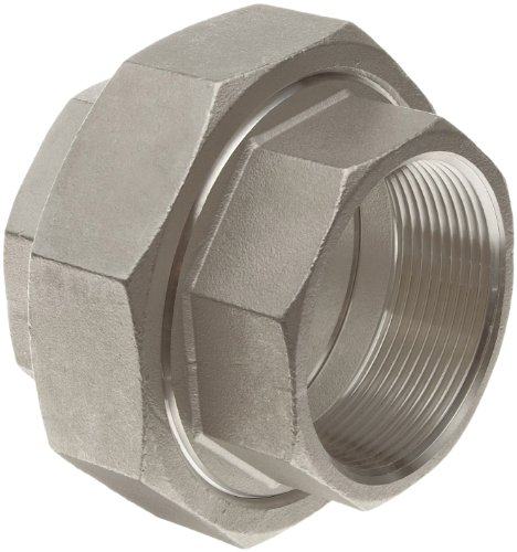 Stainless Steel 316 Cast Pipe Fitting, Union, Class 150, 1