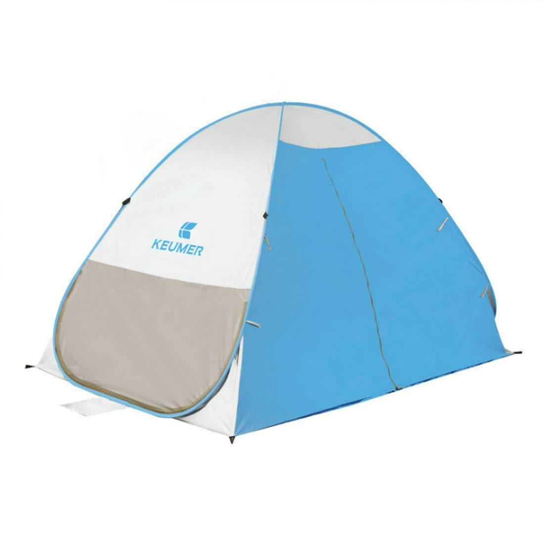 Jakiload 3-Personen-  oder 2-Personen-Outdoor-Zelt für Wild-Camping (Farbe   3-Personen- Blau) c16a78