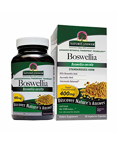Nature's Answer Boswellia Vegetarian Capsules, 90-Count For Sale