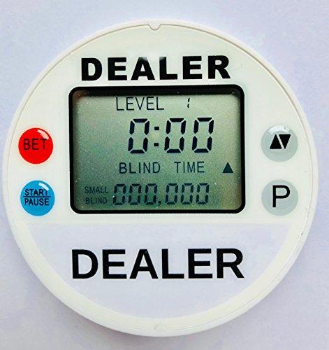 DB Tournament Edition Dealer Poker Dealer Button Timer Combo - Includes Bonus Cut ()