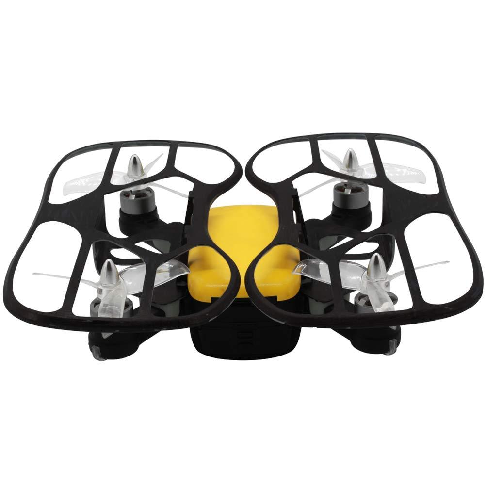 Daxoon Mini-Drohne für Kinder,Fernbedienung Quadcopter -HD 1080P 2.4G RC mit GPS-Position Eine Taste Bedienung Rückkehr Flying Spielzeug für Mädchen oder Jungen und Anfänger,Neues  Gelb