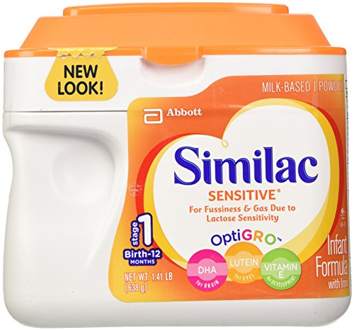 Similac Sensitive Baby Formula - Powder - 1.41 lb