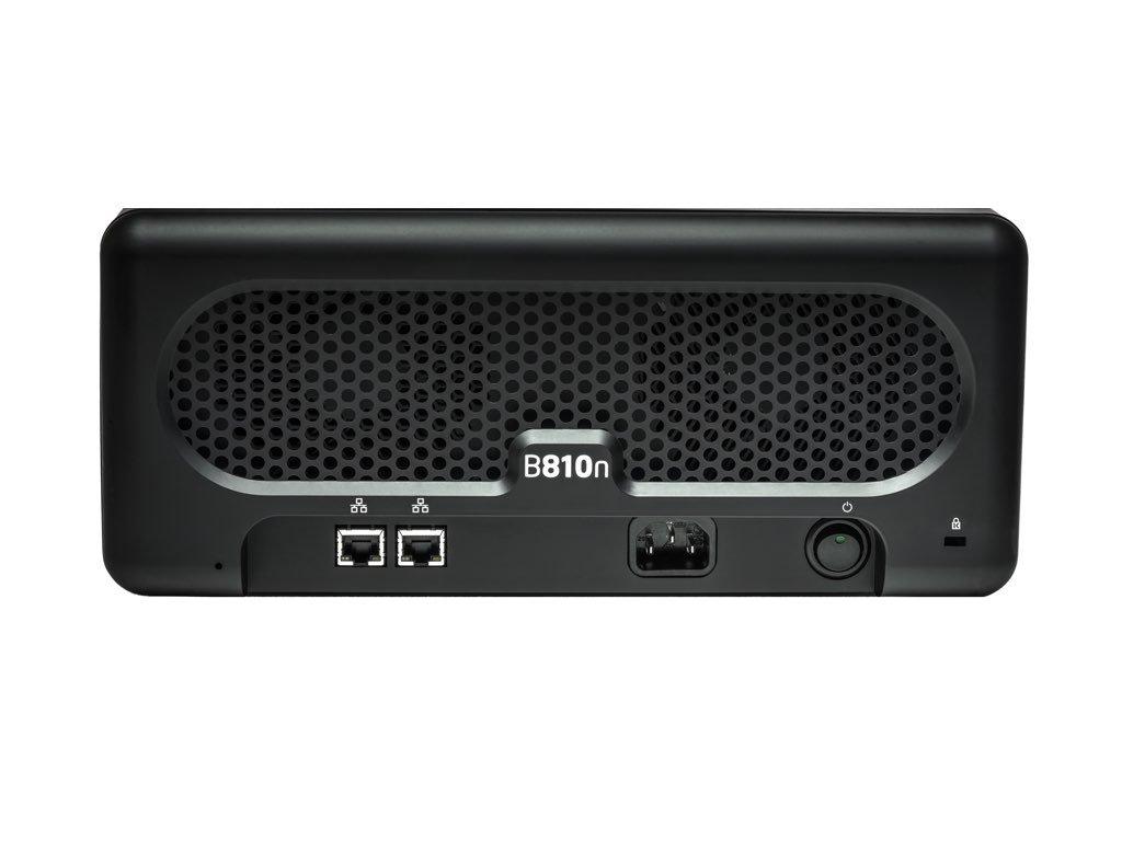 Drobo B810n: Network Attached Storage (NAS) 8-Drive Hybrid Storage Array - Gigabit Ethernet x 2 ports (DR-B810N-5A21) by Drobo