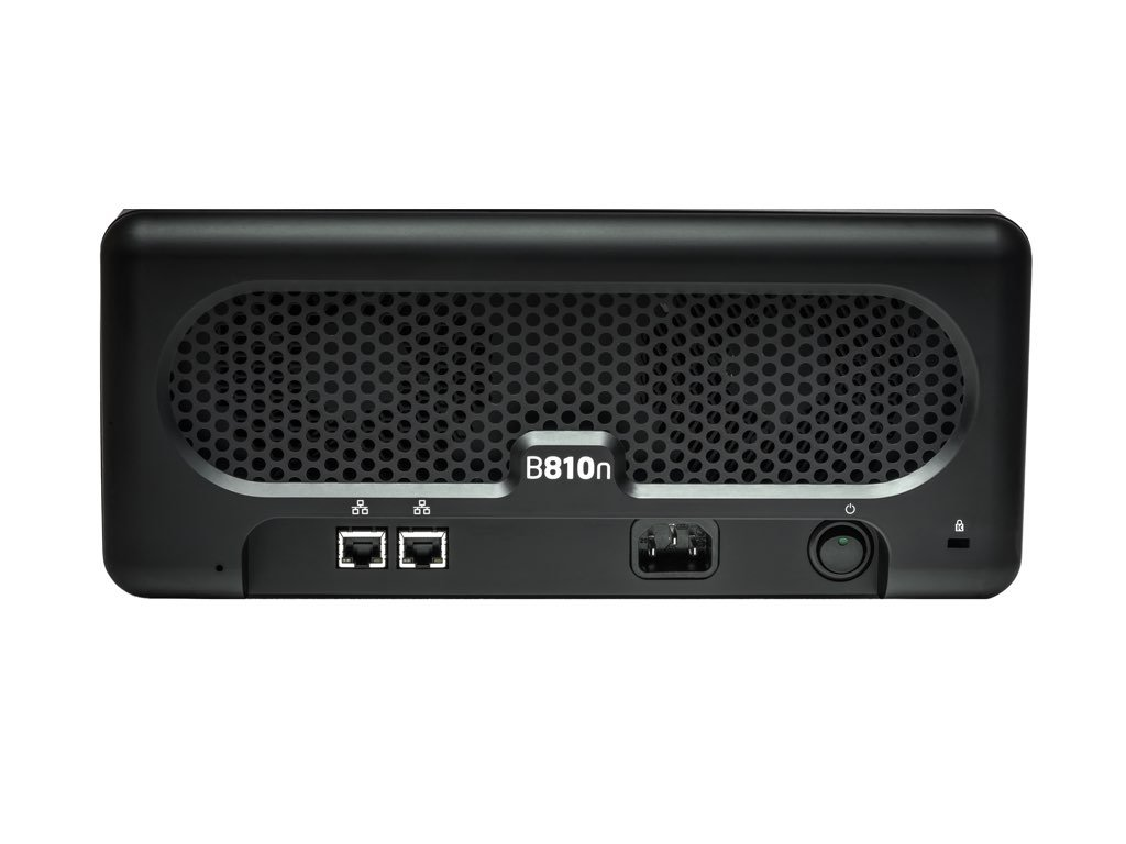 Drobo B810n: Network Attached Storage (NAS) 8-Drive Hybrid Storage Array - Gigabit Ethernet x 2 ports (DR-B810N-5A21) by Drobo