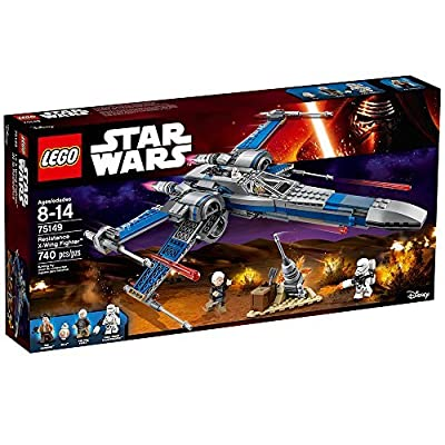LEGO Star Wars Resistance X-Wing Fighter 75149: Toys & Games