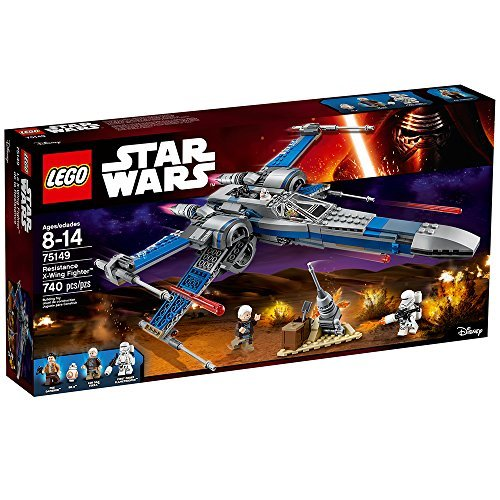 LEGO Star Wars Resistance X-Wing Fighter 75149 (Lego Star Wars Double Sets)