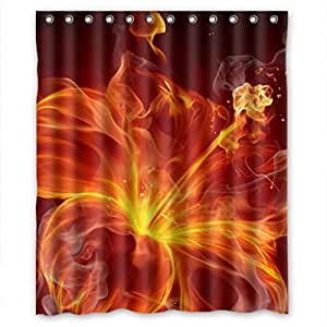 "Fashion Environmental Hotsale Fabric Shower Curtain 36""(w) x 72""(h)"
