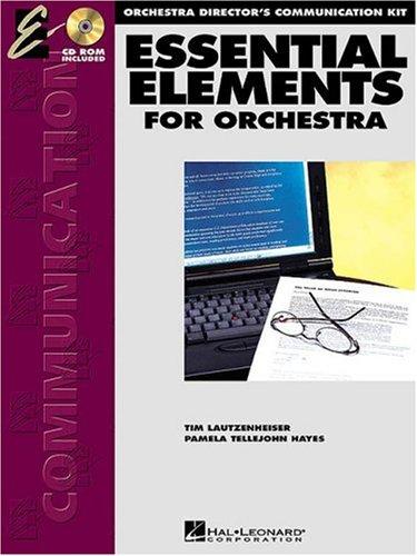 Essential Elements Directors Communication Kit Strings Bk/CD-ROM Mac & PC