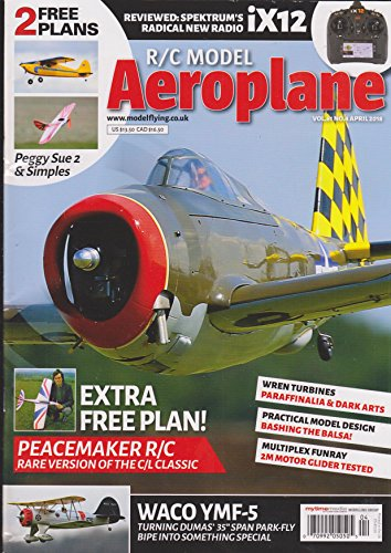 R/C Model Aeroplane Magazine April 2018 for sale  Delivered anywhere in USA