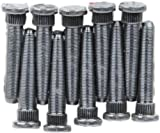 Moser Engineering (8010) 1/2'' - 20 x 3 and .625'' Knurl Diameter Wheel Stud Kit, (Set of 10)
