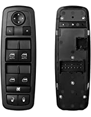 ATRACYPART Power Window Master Switch   for 2009 2010 2011 2012 Dodge Ram 1500 2500 3500 with Quad and Crew Cab   Replaces OE# 4602863AD,4602863AC,4602863AB