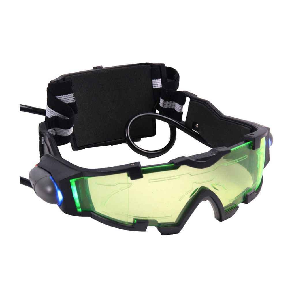 Elastic Band Night Vision Goggles Glasses Eyeshield Jiasijieke