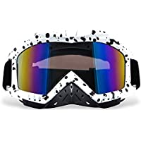 Motorcycle Goggles, Dmeixs Motocross Goggles Grip For...