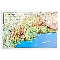 Mapa en relieve de Málaga: Escala 1:600.000: Amazon.es: All 3D ...