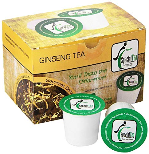 Special Tea Company Ginseng, Single Serve Oolong Tea Pod (Pack of 10)